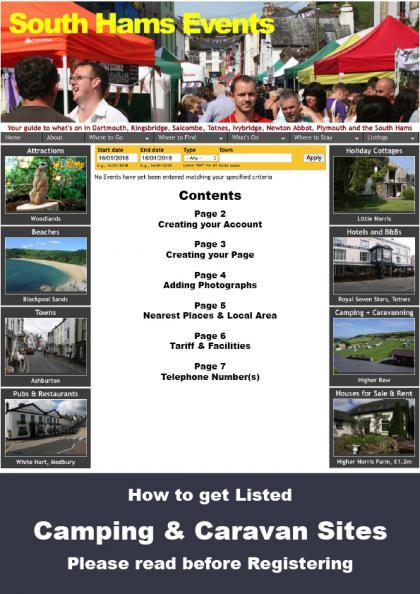 Cover of Camping & Caravan Sites Manual