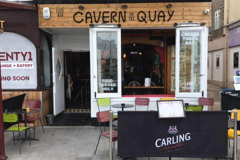 Cavern on the Quay, Torquay