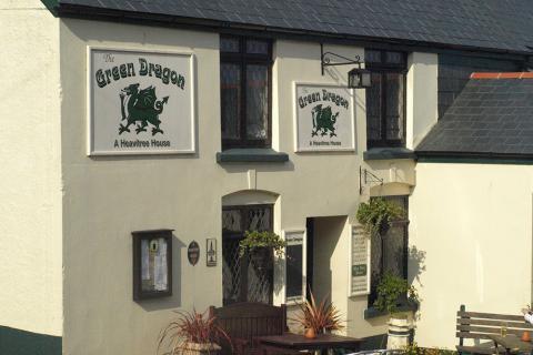 The Green Dragon, Stoke Fleming