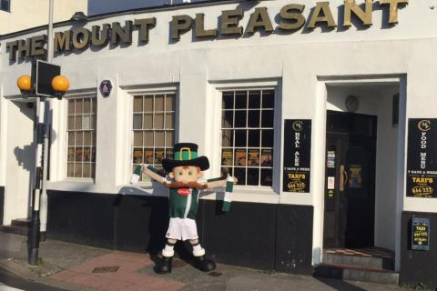 The Mount Pleasant, Millbay Road, Plymouth