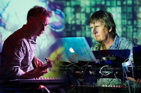 Toby Marks and Andrew Heath; photo Alexander Caminada