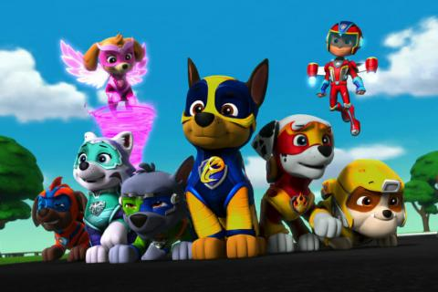 Paw Patrol Mighty Pups: The Movie