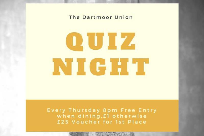 Dartmoor Union Quiz Night