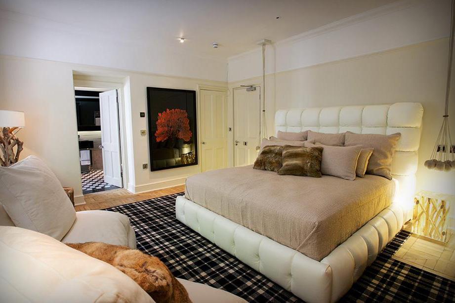 Glazebrook House Hotel, South Brent, bedroom