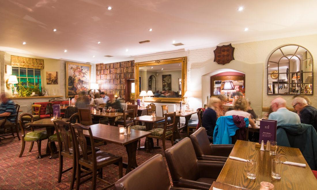 Saloon Bar at the Royal Seven Stars, Totnes