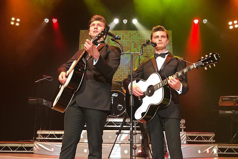Luke and Aaron Wilson