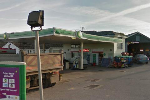Totnes Cross Garage, Halwell