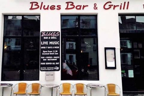 The Blues Bar, Plymouth