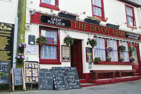 The Devon Arms, Torquay