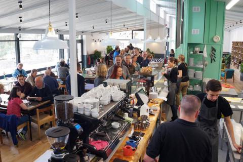Green Table Cafe, Dartington