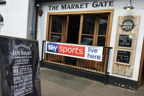 The Market Gate, Newton Abbot