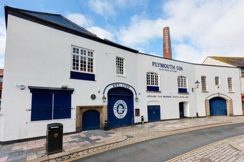 Plymouth Gin Distillery, Plymouth