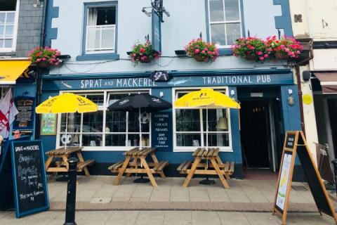 The Sprat and Mackerel, Brixham