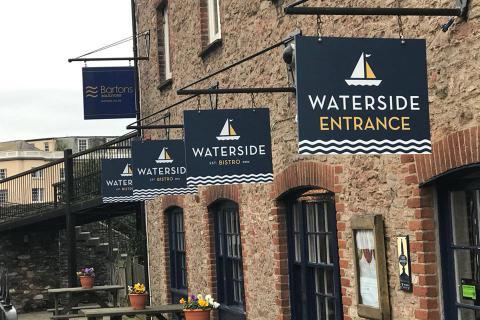 Waterside Bistro, Totnes