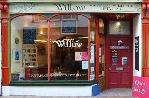 Willow Vegetarian Restaurant, Totnes