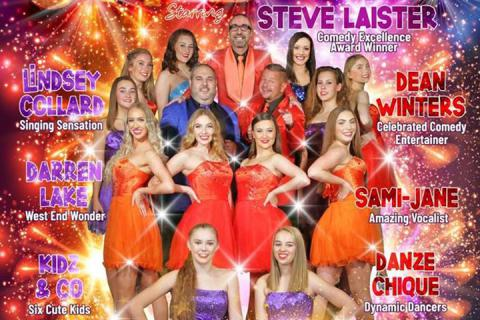 Starburst at the Babbacombe Theatre